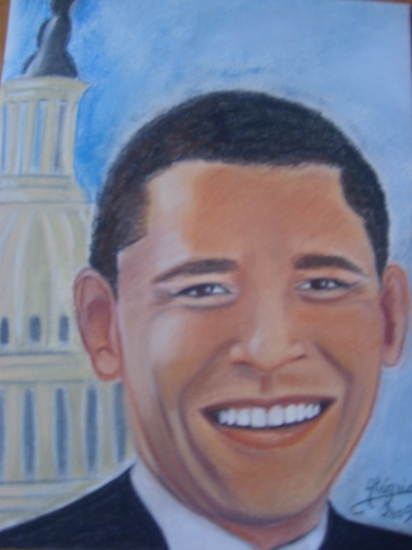 Barack Obama by joie